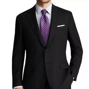 Canali single breasted blazer black classic